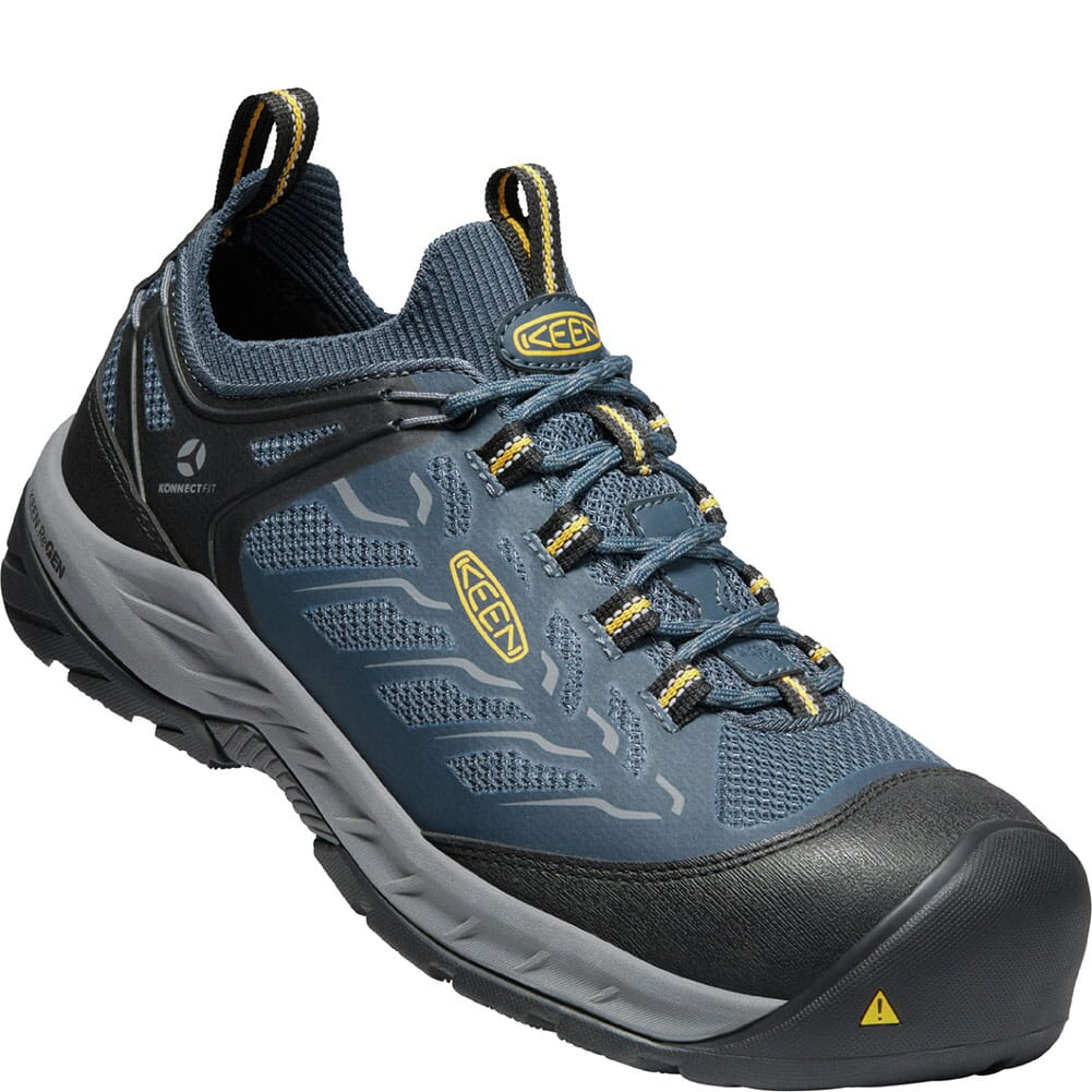 Image for KEEN Utility Men's Flint II Sport Safety Shoes - Midnight Navy/Steel Gre from bootbay