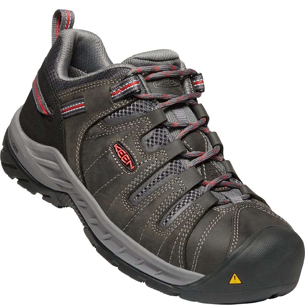 Image for KEEN Utility Women's Flint II Safety Shoes - Magnet/Rose from elliottsboots