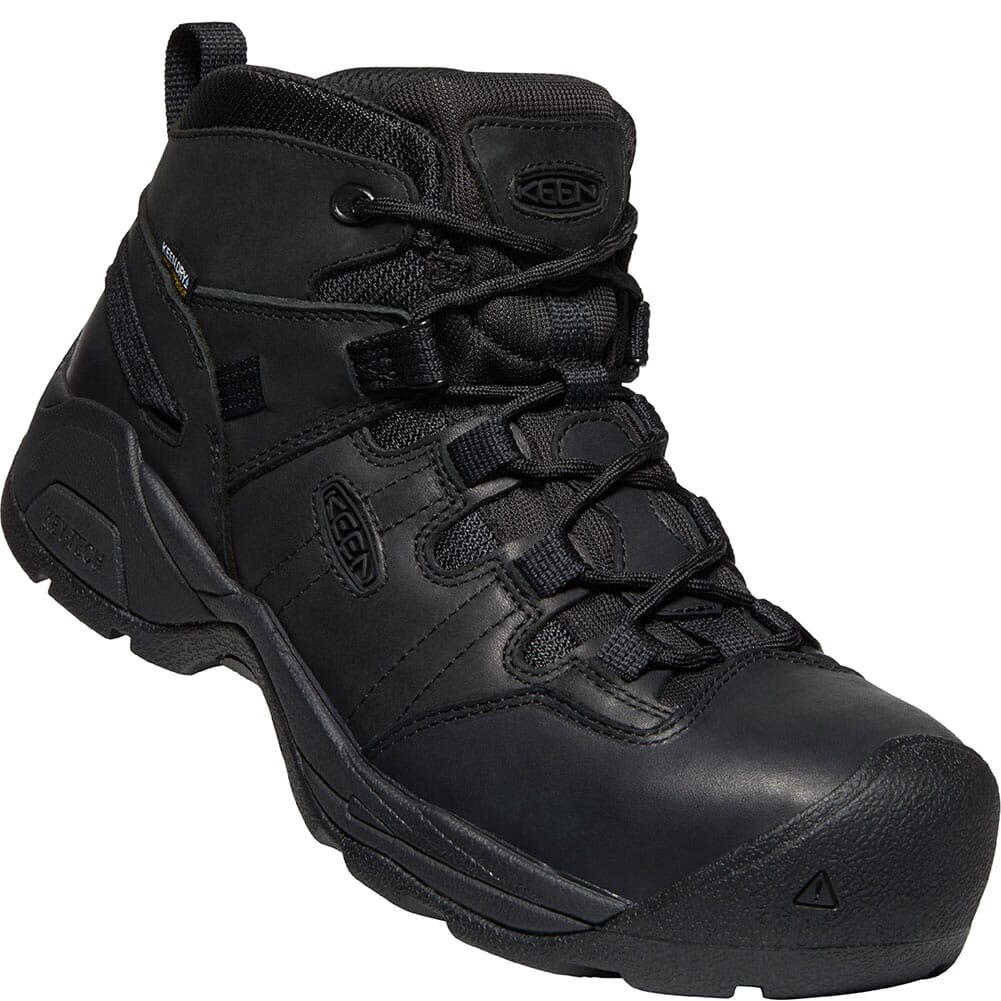 Image for KEEN Utility Men's Detroit XT+ Safety Boots - Black/Black from bootbay