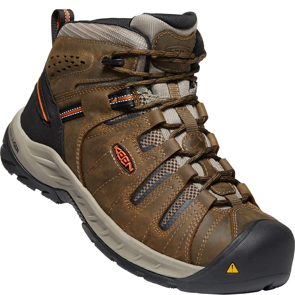 Image for KEEN Utility Men's Flint II WP Safety Boots - Cascade Brown/Orion Blue from bootbay