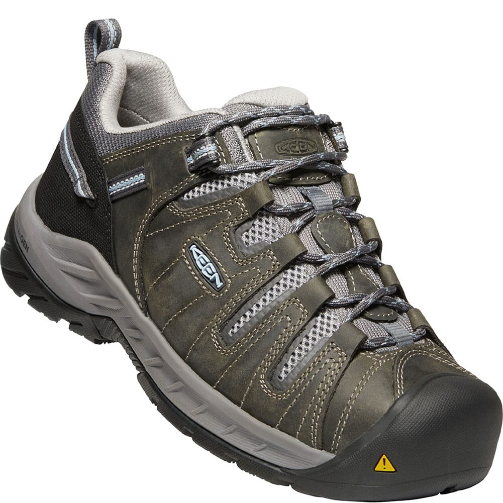Image for KEEN Utility Women's Flint II EH Work Shoes - Steel Grey/Paloma from elliottsboots