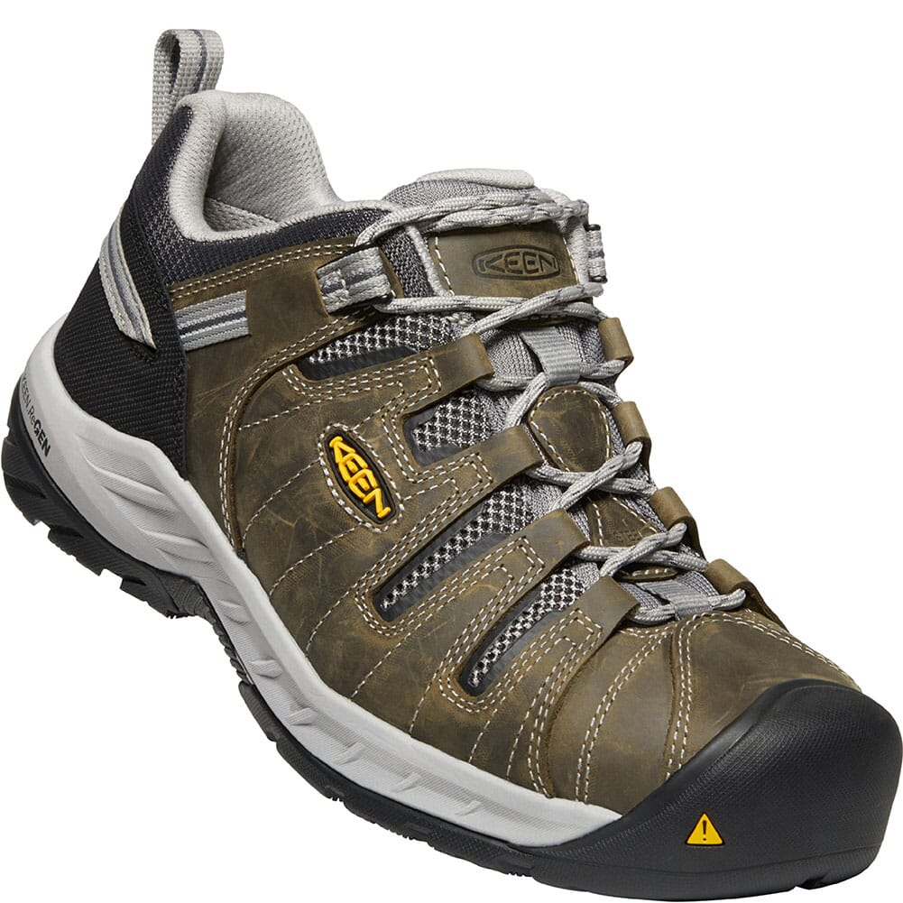 Image for KEEN Utility Men's Flint II Safety Shoes - Gargoyle/Paloma from bootbay