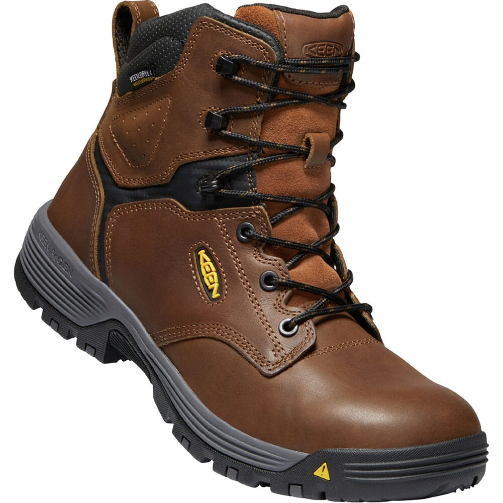 Image for KEEN Utility Men's Chicago WP Work Boots - Tobacco/Black from bootbay