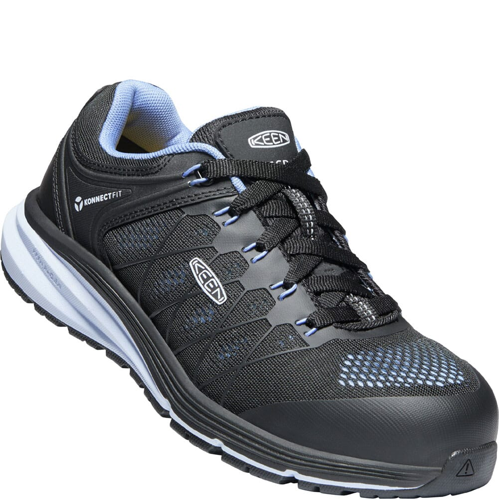 Image for KEEN Utility Women's Vista Energy ESD Safety Shoes - Hydrangea/Black from bootbay