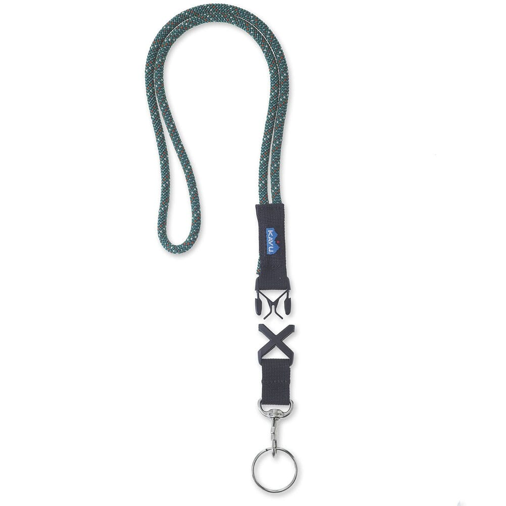 Image for KAVU Printed Logo Webbing Lanyard - Greenlake from bootbay