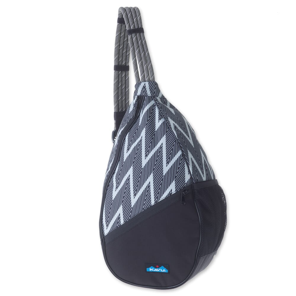 Image for Kavu Women's Paxton Pack Rope Bag - Black Zig Zag from bootbay