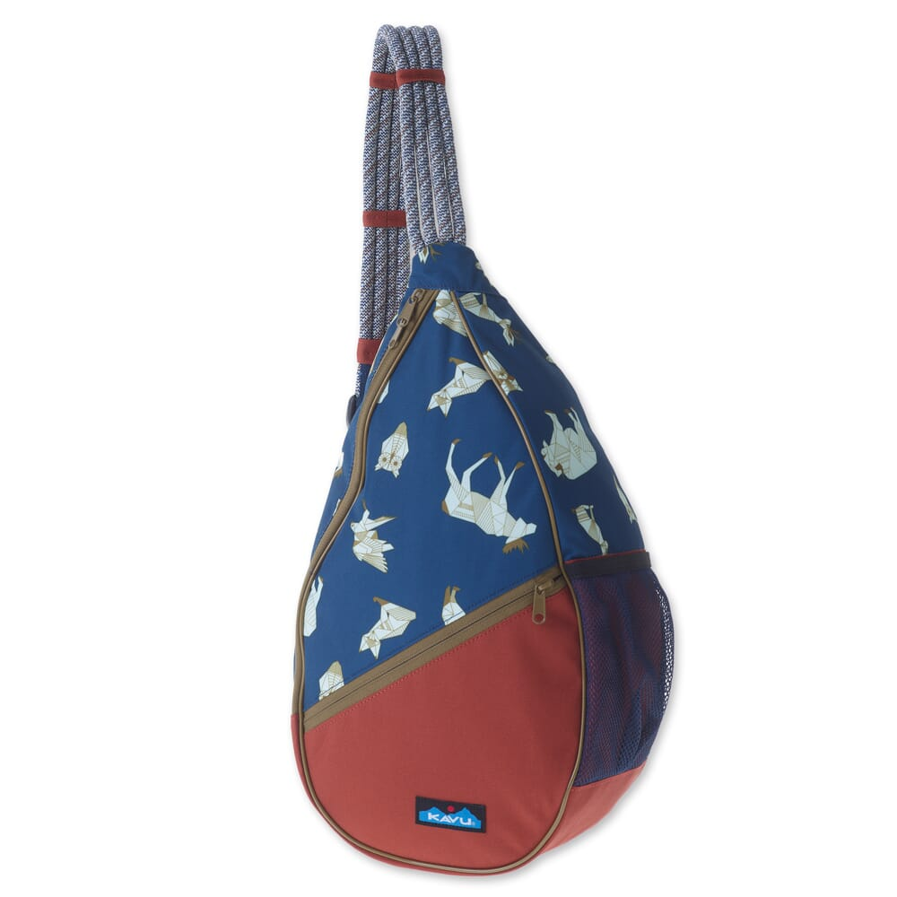 Image for Kavu Women's Paxton Pack Rope Bag - Navy Range from bootbay