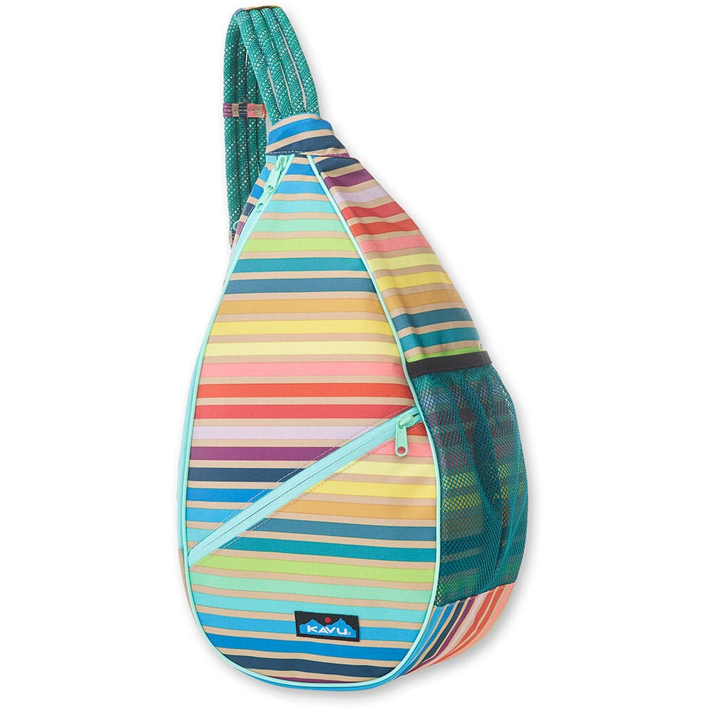 Image for Kavu Women's Paxton Pack Rope Bag - Summer Stripe from bootbay