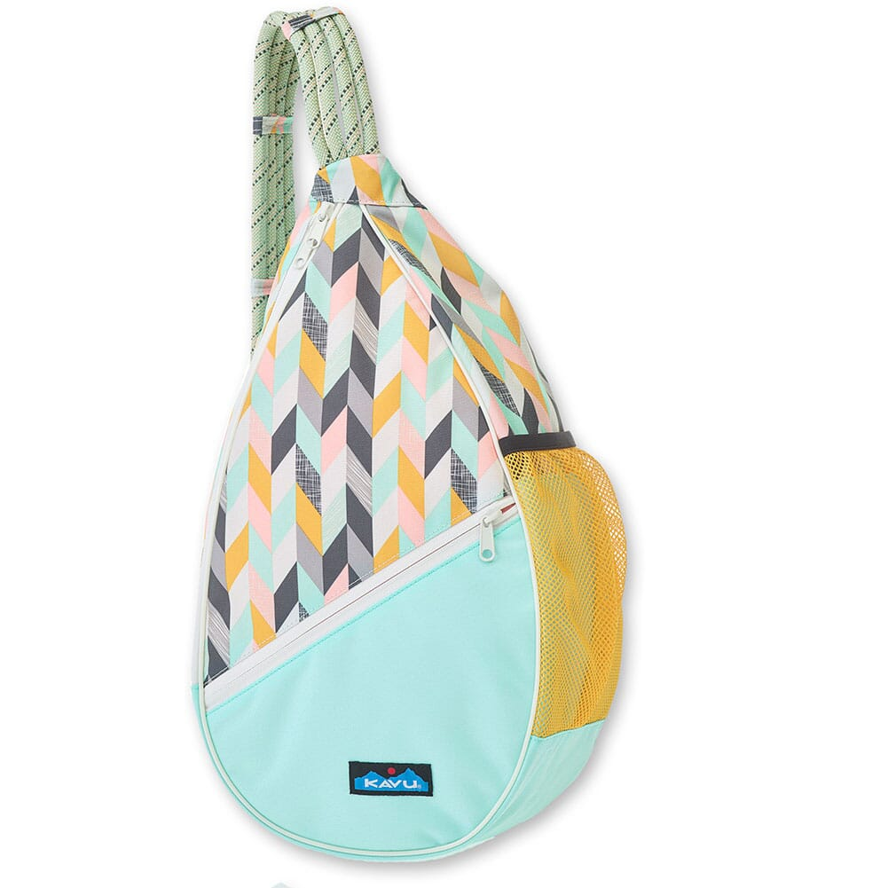 Image for Kavu Women's Paxton Pack Rope Bag - Chevron Sketch from bootbay