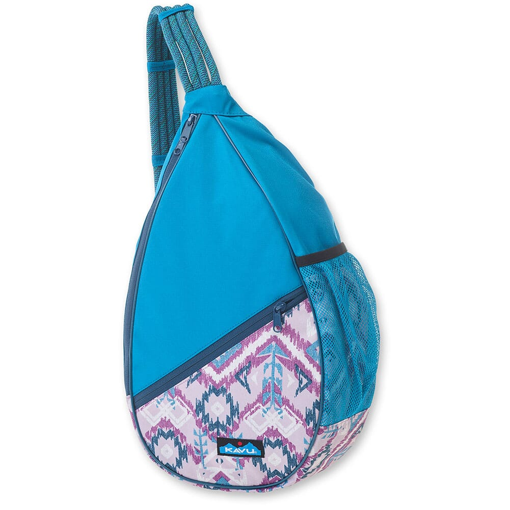 Image for Kavu Women's Paxton Pack Rope Bag - Purple Ikat from bootbay