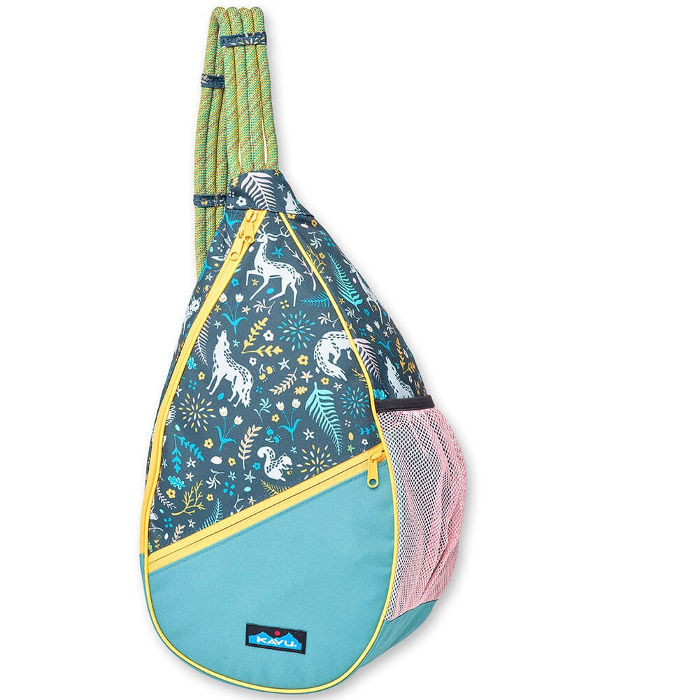 Image for Kavu Women's Paxton Pack Rope Bag - Fairy Trail from bootbay