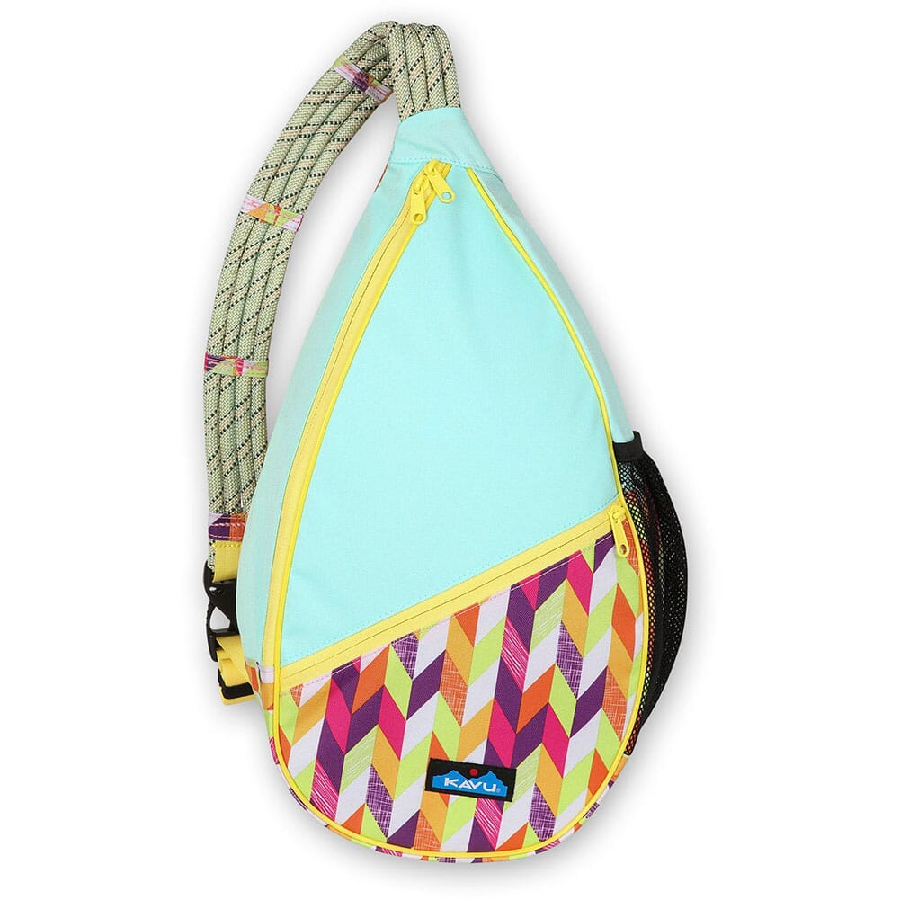 Image for Kavu Women's Paxton Pack Rope Bag - Chevron Punch from bootbay
