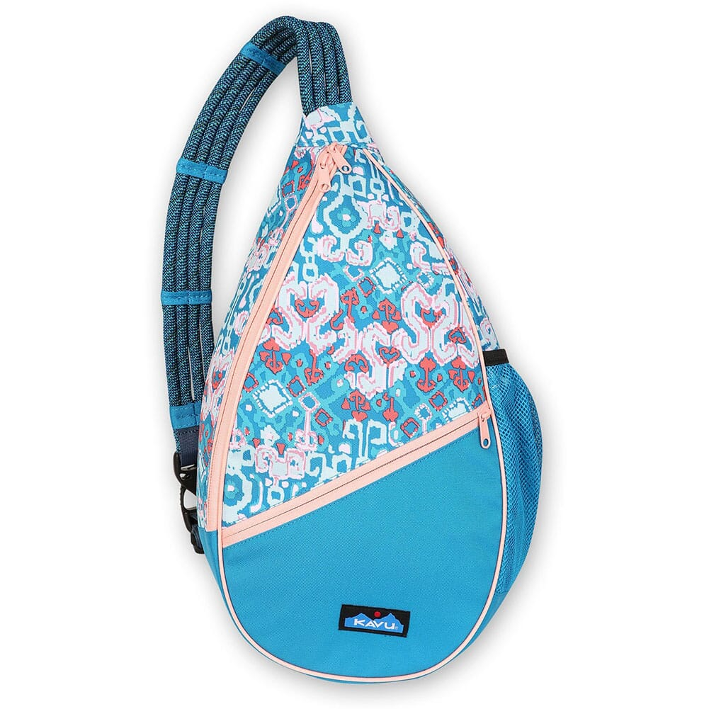 Image for Kavu Women's Paxton Pack Rope Bag - Aqua Montage from bootbay