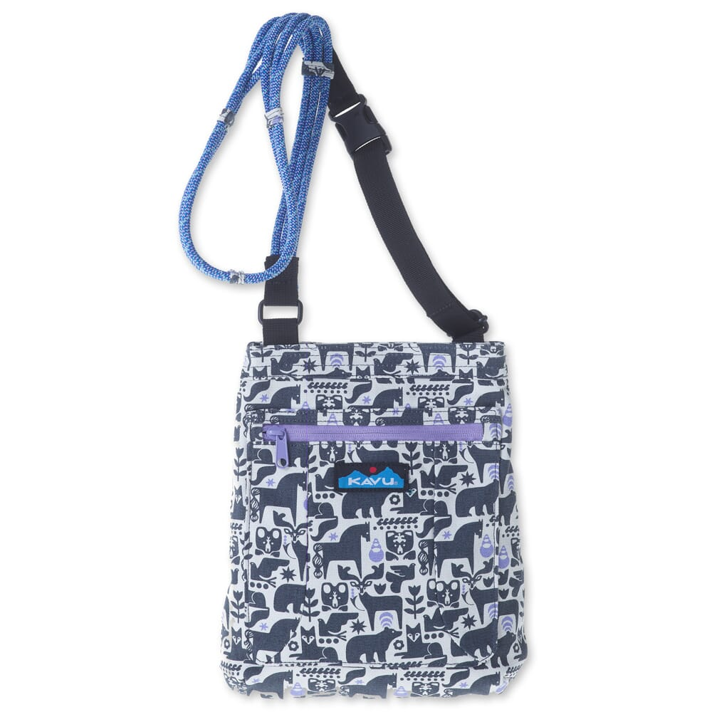 Image for Kavu Women's Keepalong Bag - Charcoal Fable from bootbay