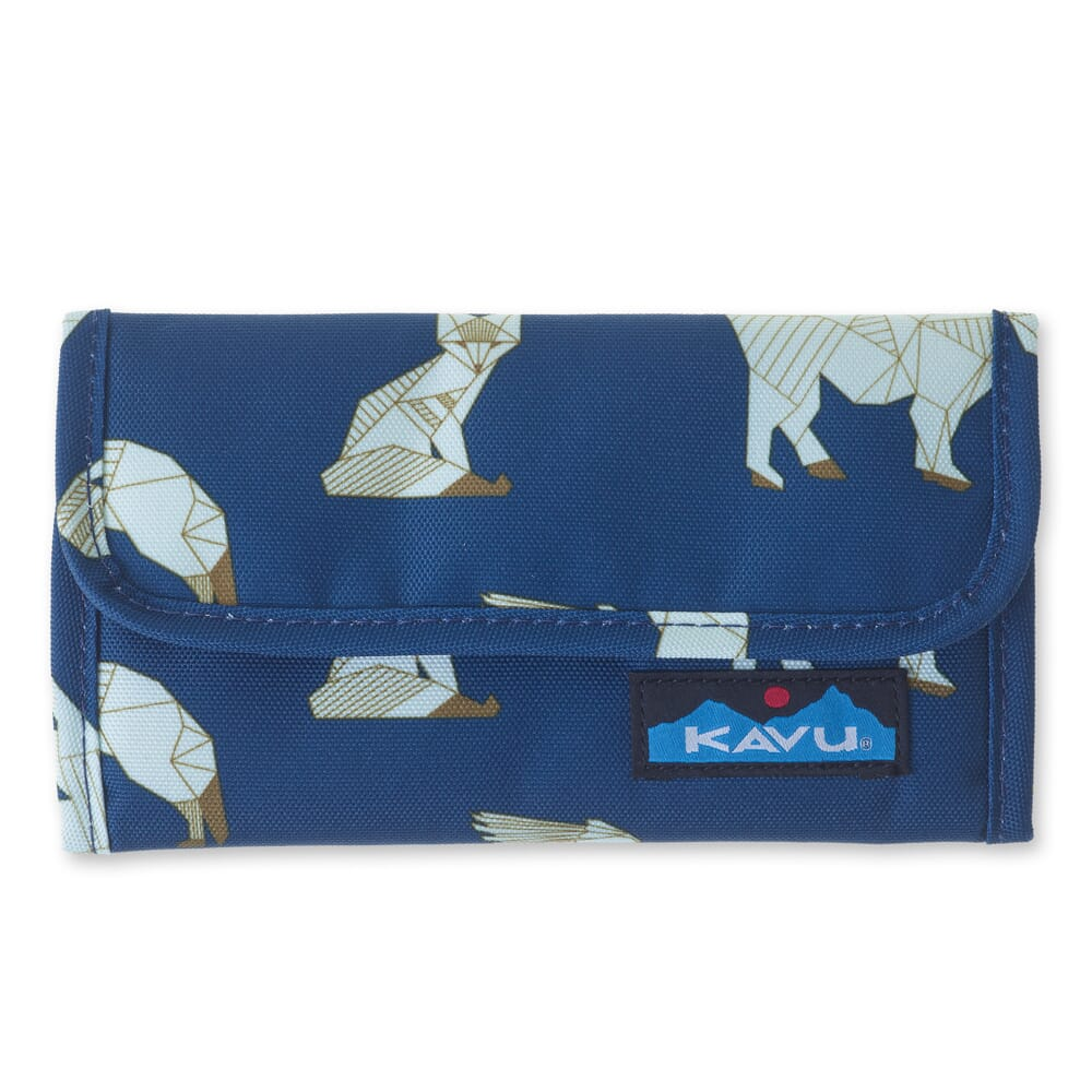 Image for Kavu Women's Mondo Spender Wallet - Navy Range from bootbay