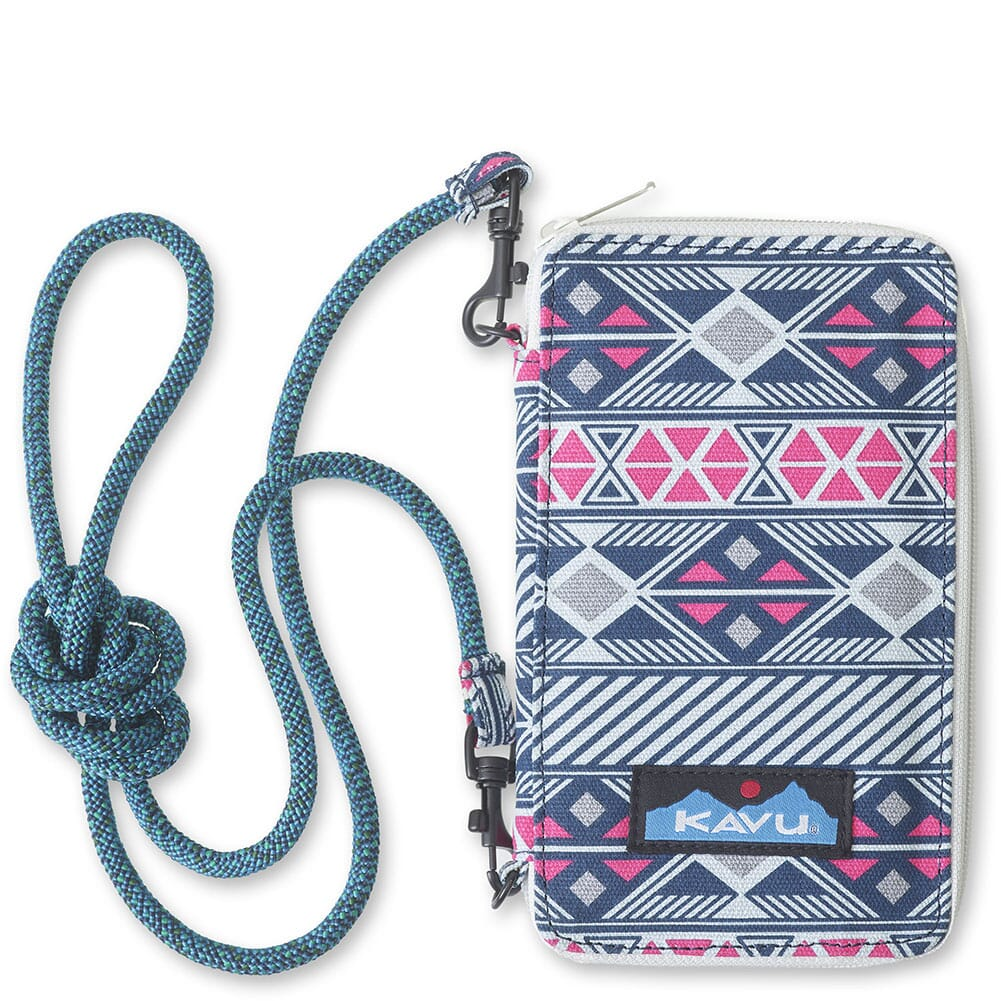 Image for Kavu Women's Go Time Bi-Fold Wallet - Gem Inlay from bootbay