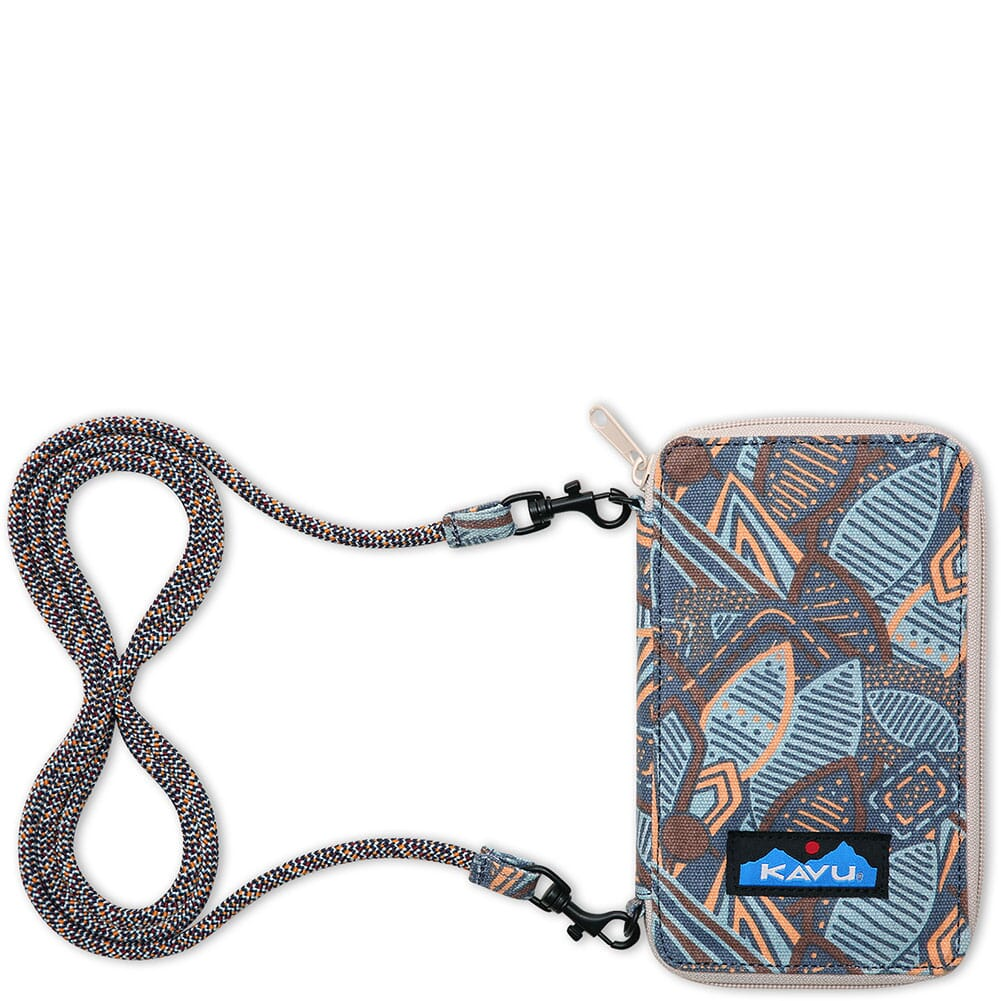 Image for Kavu Women's Go Time Bi-Fold Wallet - Jumble Leaf from bootbay