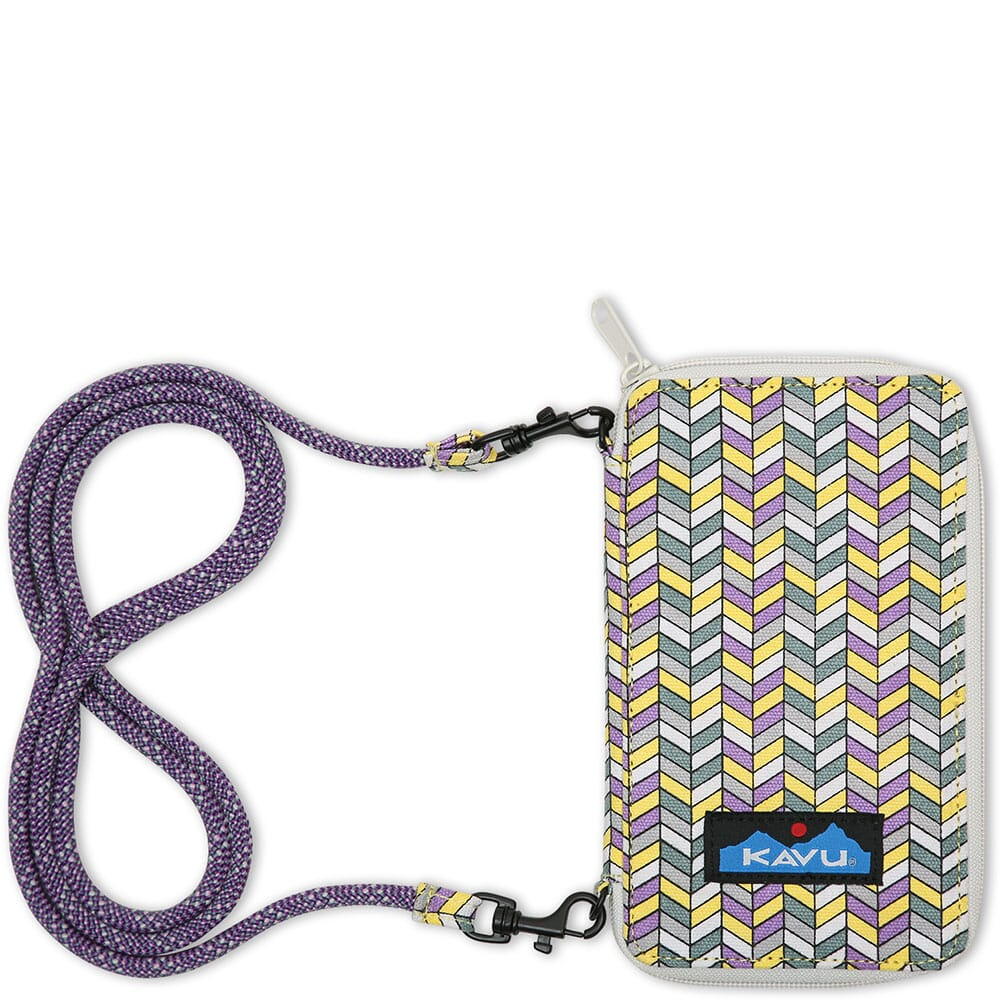 Image for Kavu Women's Go Time Bi-Fold Wallet - Itty Bitty Chevron from bootbay