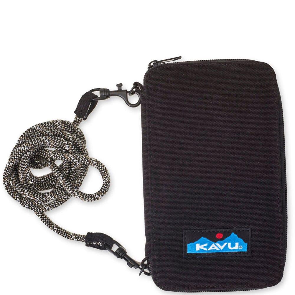 Image for Kavu Women's Go Time Bi-Fold Wallet - Black from bootbay