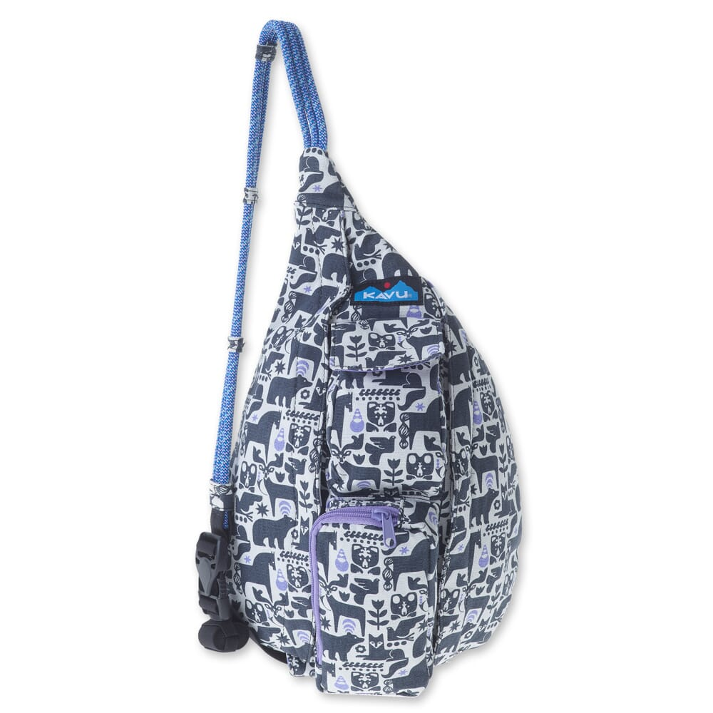 Image for Kavu Women's Mini Rope Bag - Charcoal Fable from bootbay