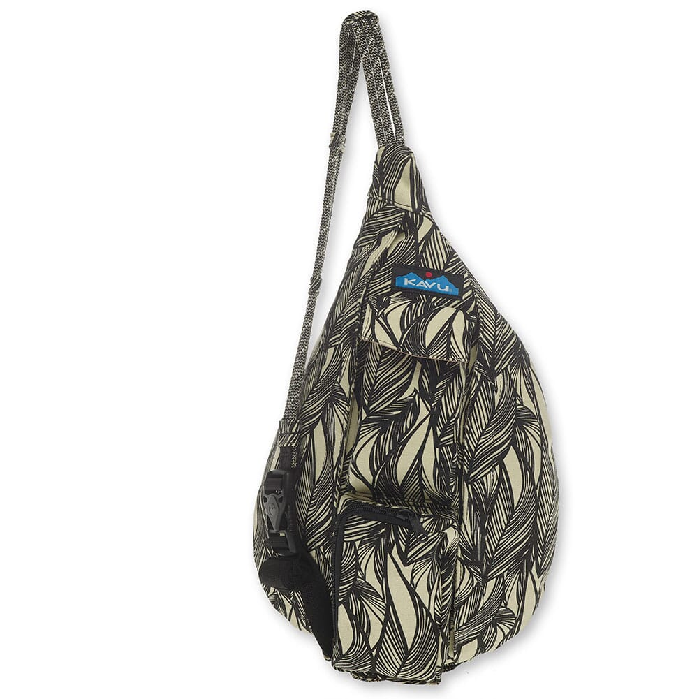 Image for Kavu Women's Mini Rope Bag - Ink Leaf from bootbay