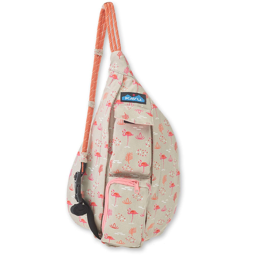Image for Kavu Women's Mini Rope Bag - Chillin Flamingo from bootbay