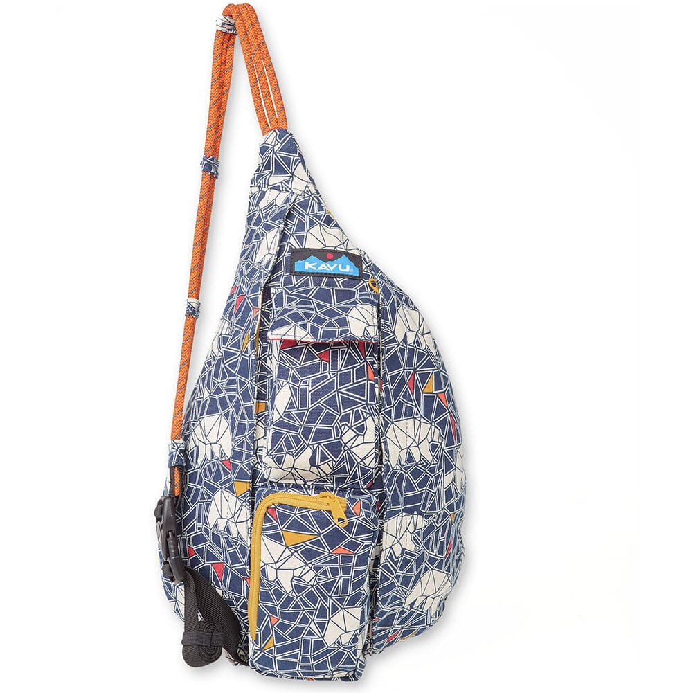 Image for Kavu Women's Mini Rope Bag - Polar Mosaic from bootbay
