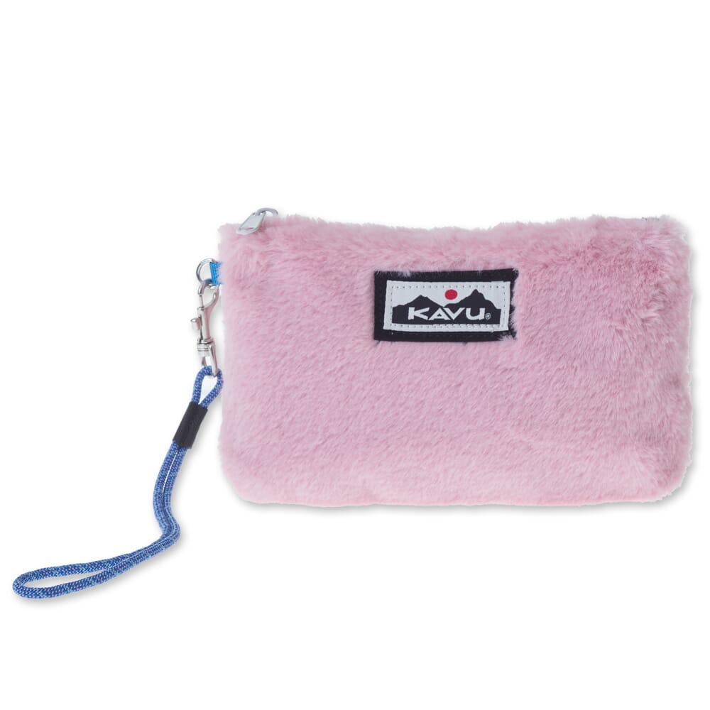 Image for Kavu Women's All My Plush Clutch Bag - Blush from bootbay