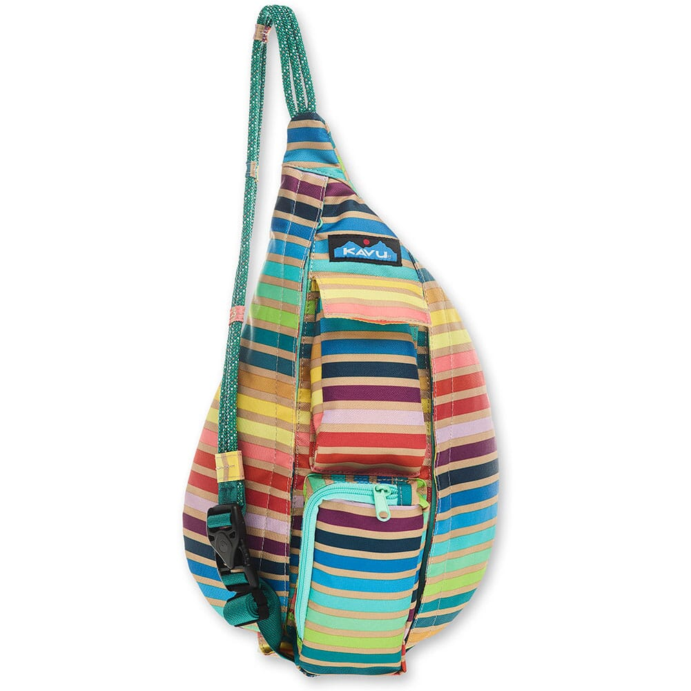 Image for Kavu Mini Rope Sling Pack - Summer Stripe from bootbay