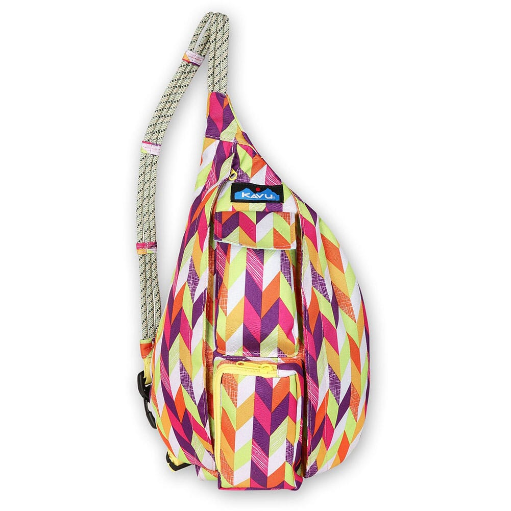Image for Kavu Mini Rope Sling Pack - Chevron Punch from bootbay