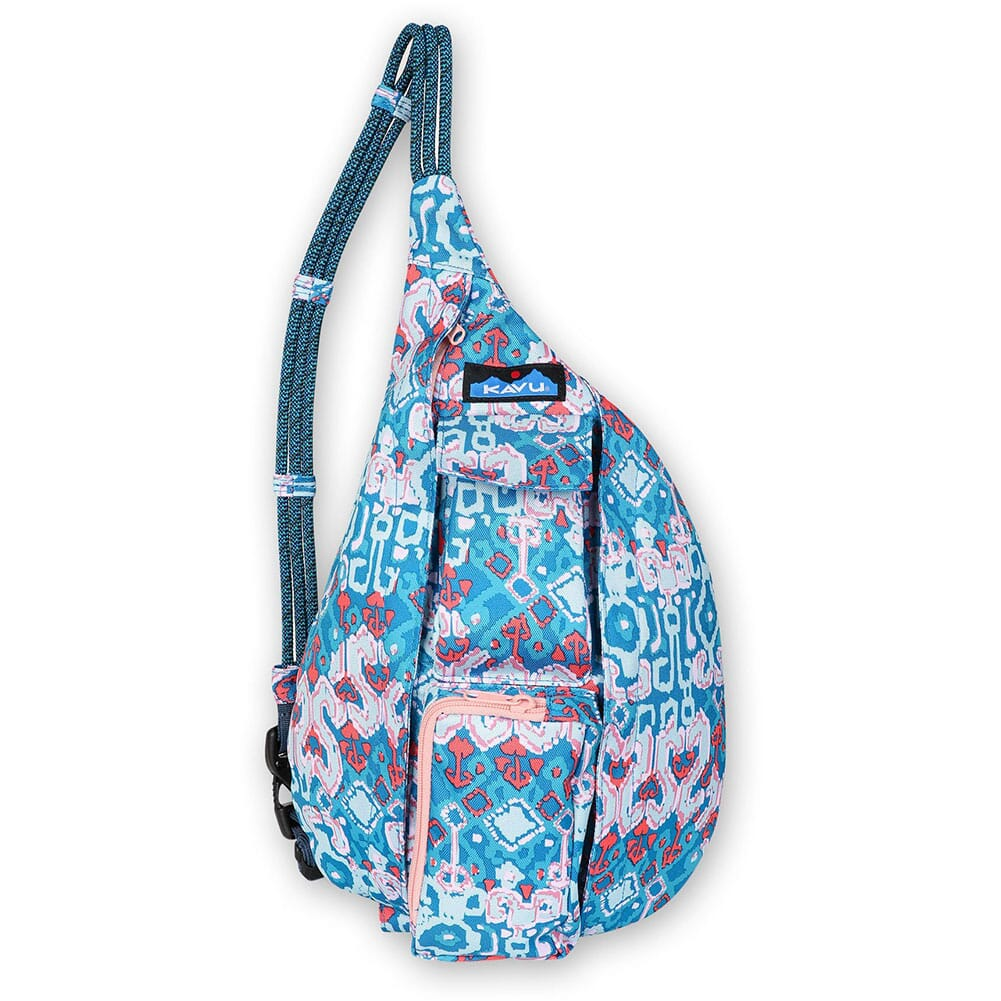 Image for Kavu Mini Rope Sling Pack - Aqua Montage from bootbay