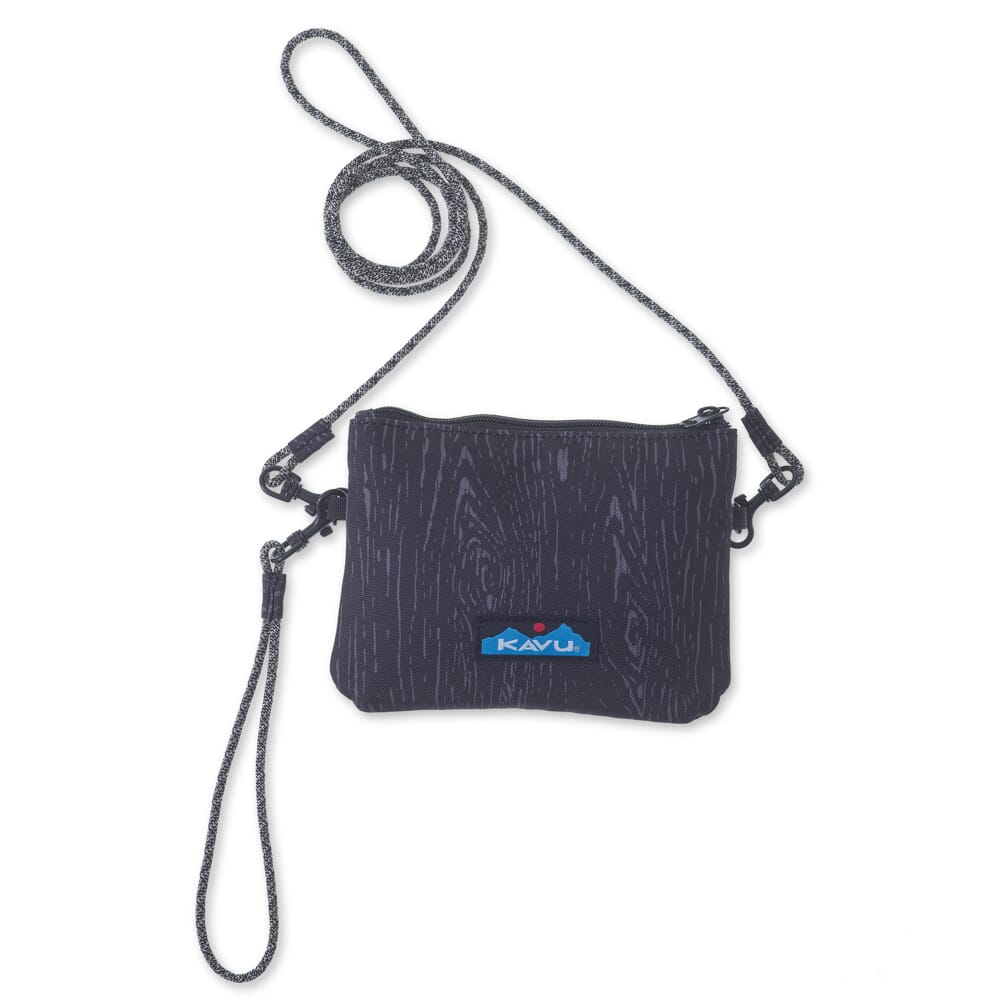 Image for KAVU Women's Renrose Cross Body Wallet - Black Oak from bootbay