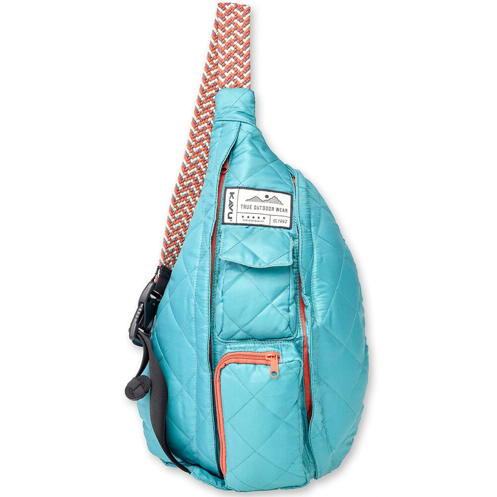 Image for KAVU Women's Mini Rope Puff Bag - Blue Spruce from bootbay