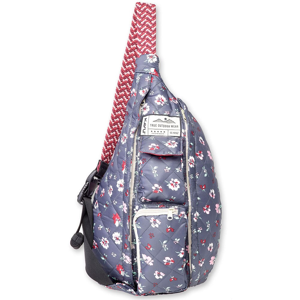 Image for KAVU Women's Mini Rope Puff Bag - Pressed Flowers from bootbay