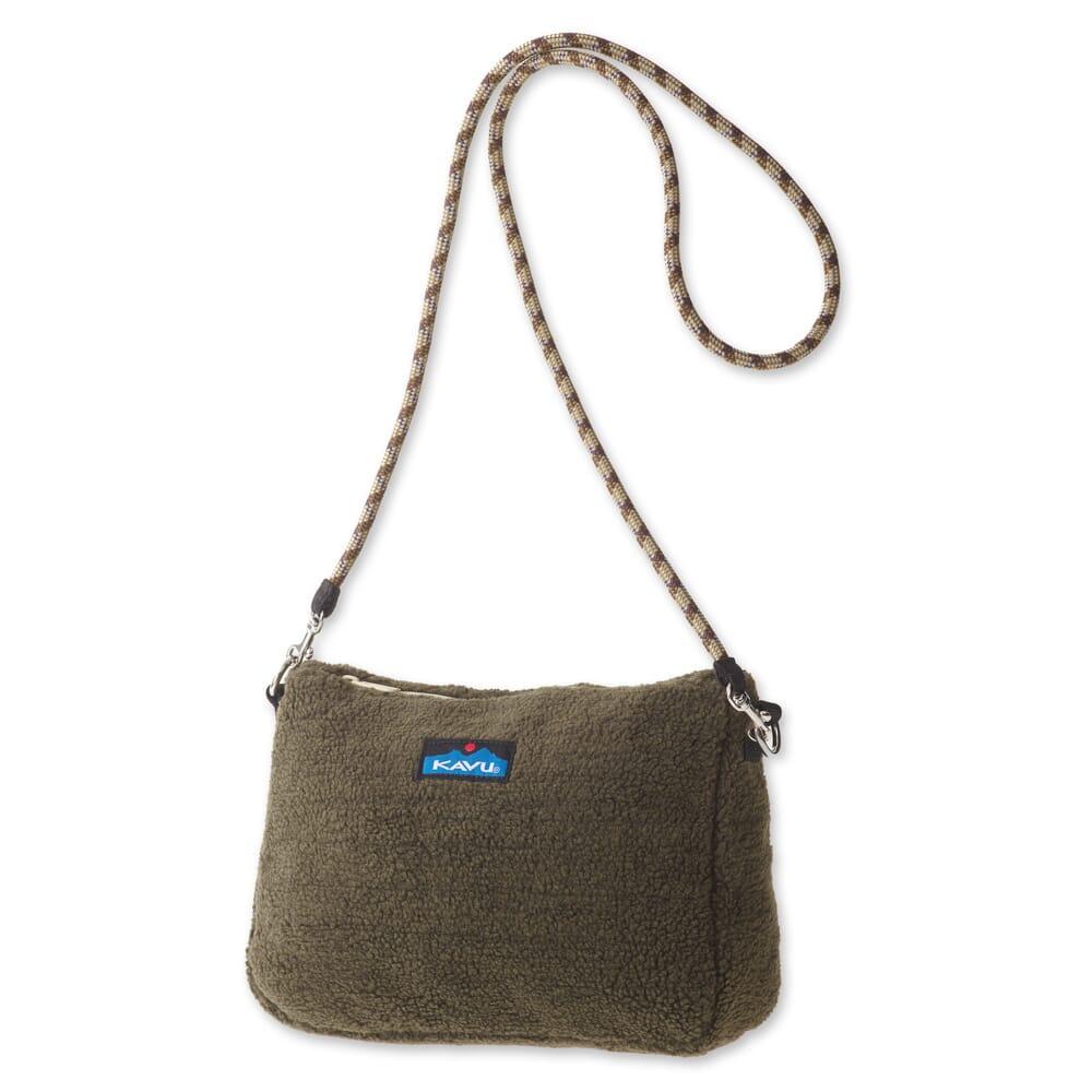 Image for KAVU Women's So Fleecey Crossbady Bag - Marsh from bootbay