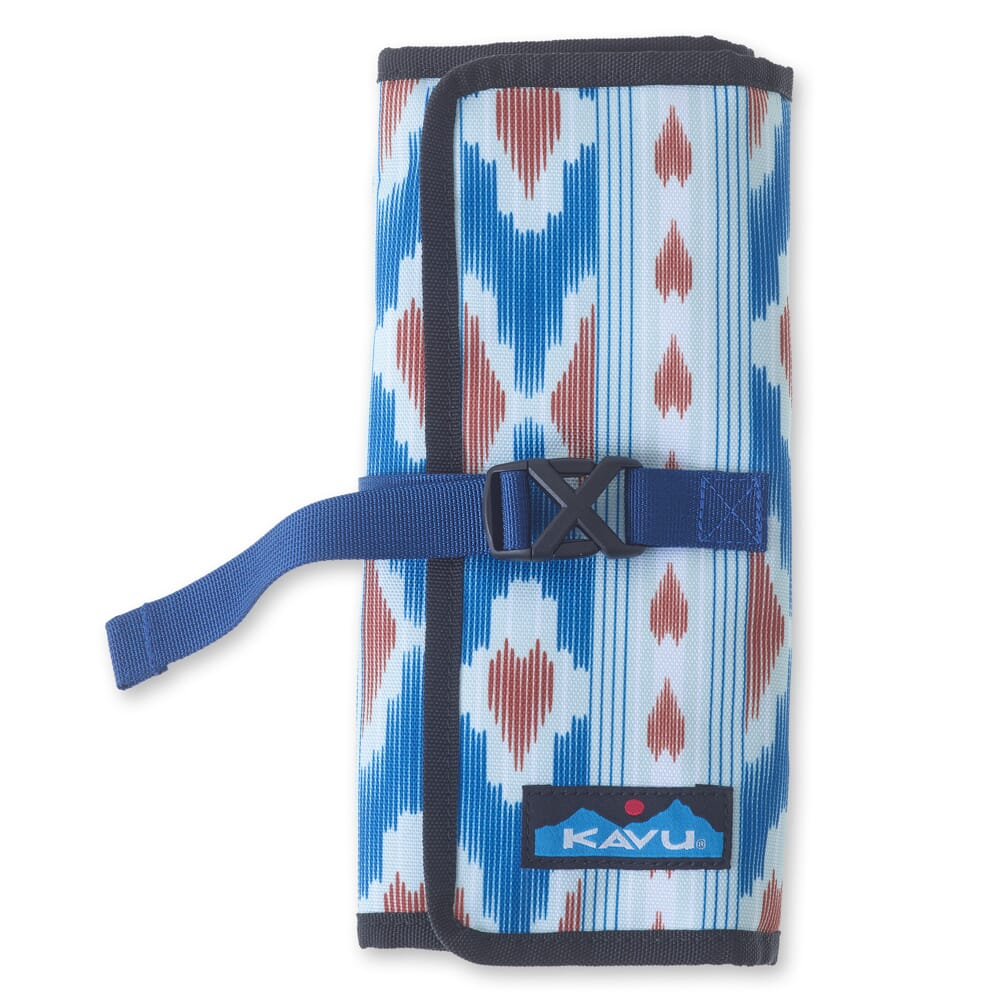 Image for KAVU Women's Power Pouch Tri-Fold - River Ikat from bootbay