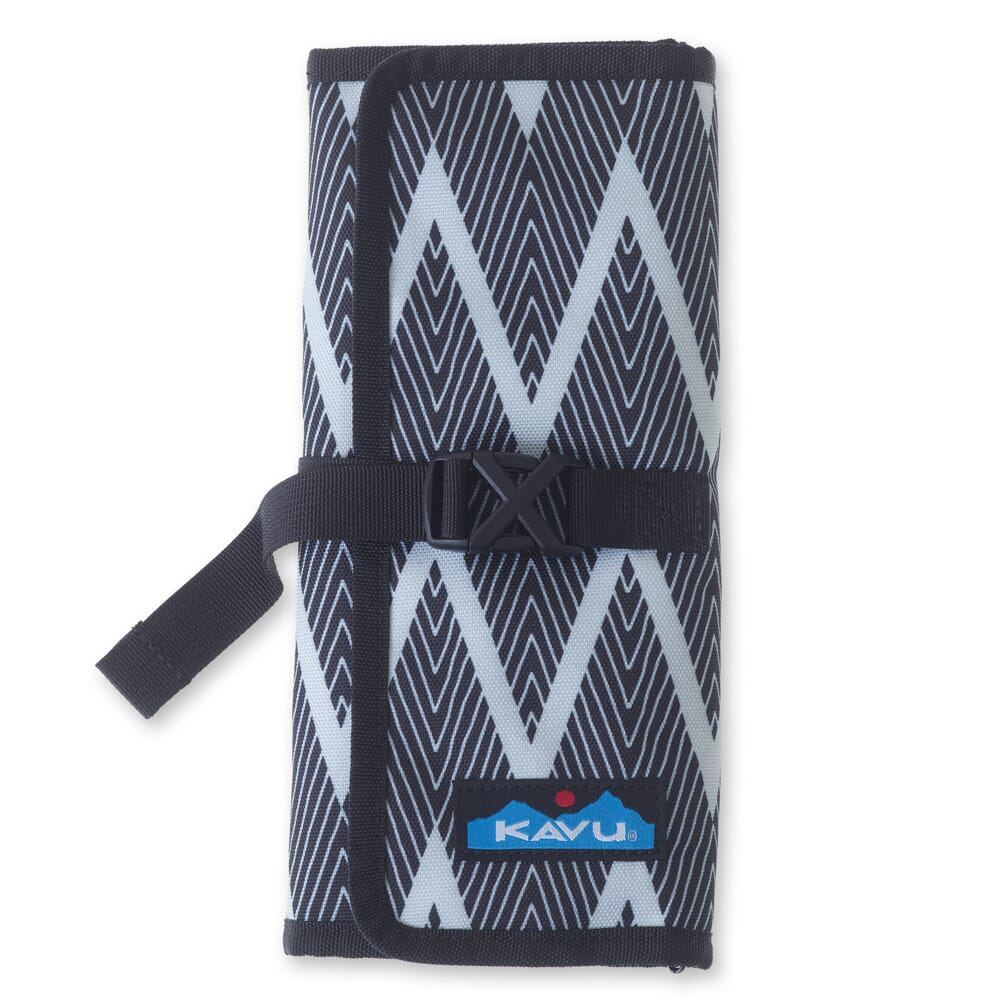 Image for KAVU Women's Power Pouch Tri-Fold - Black Zig Zag from bootbay