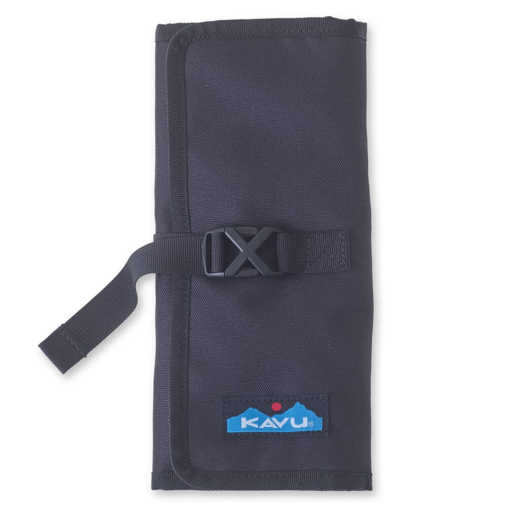 Image for KAVU Women's Power Pouch Tri-Fold - Jet Black from bootbay