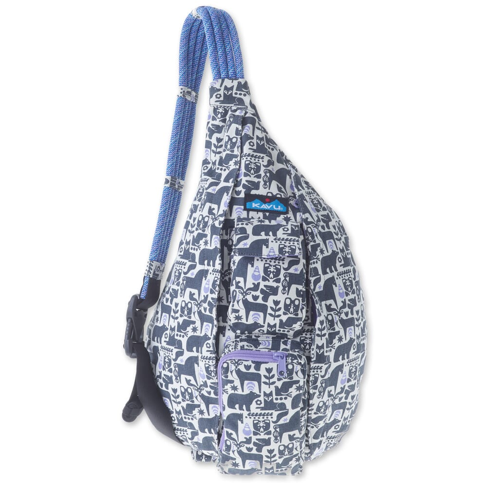 Image for Kavu Women's Rope Bag - Charcoal Fable from bootbay