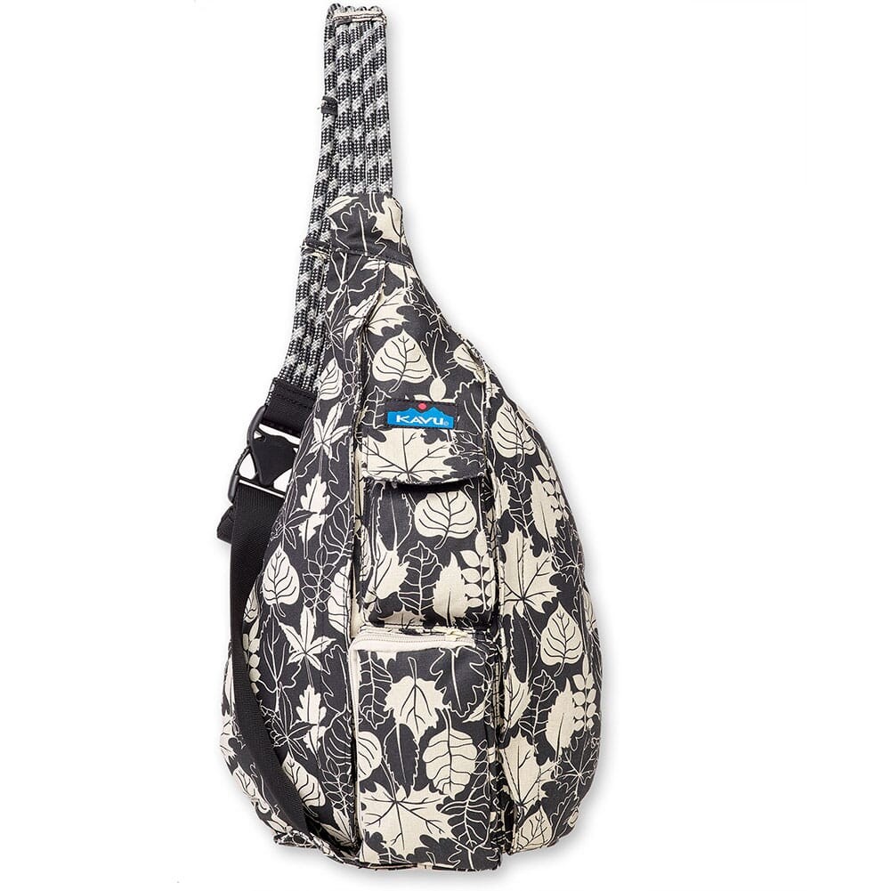 Image for Kavu Women's Rope Bag - BW Leaf from bootbay