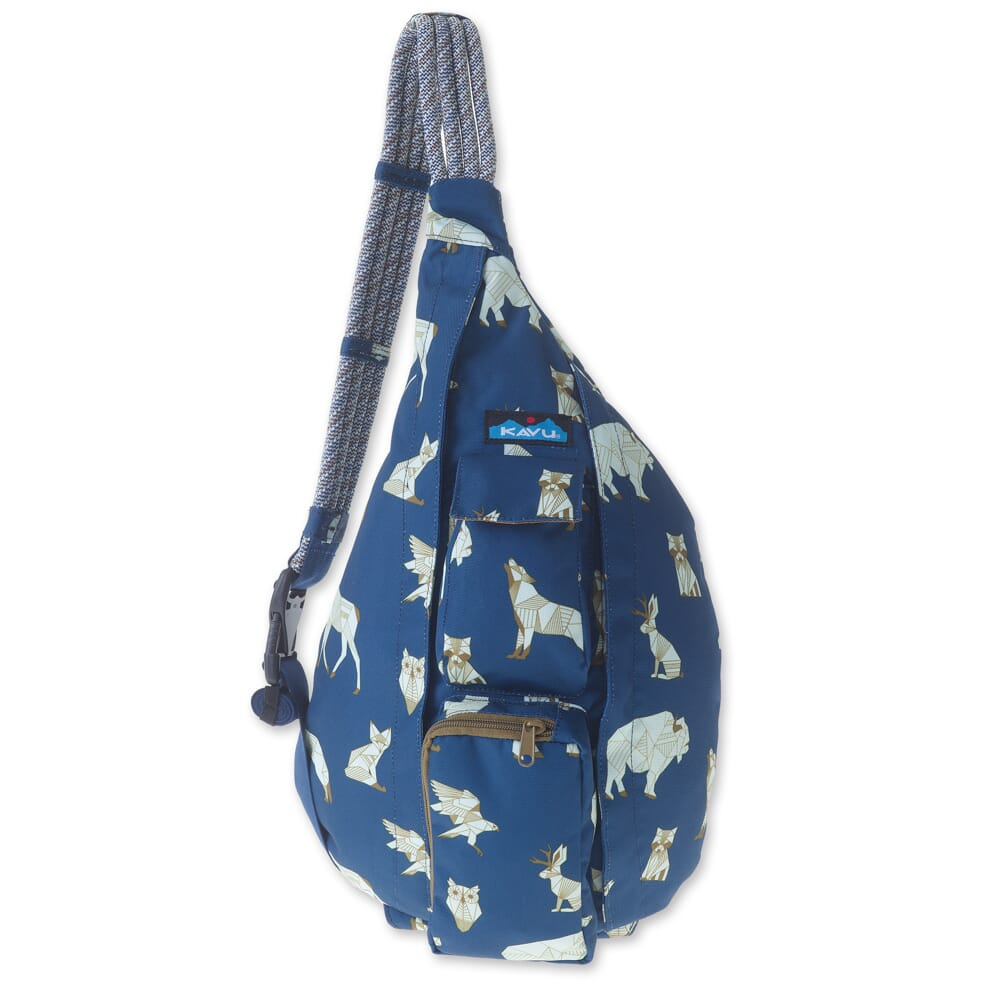 Image for Kavu Women's Rope Sling Bag - Navy Range from bootbay