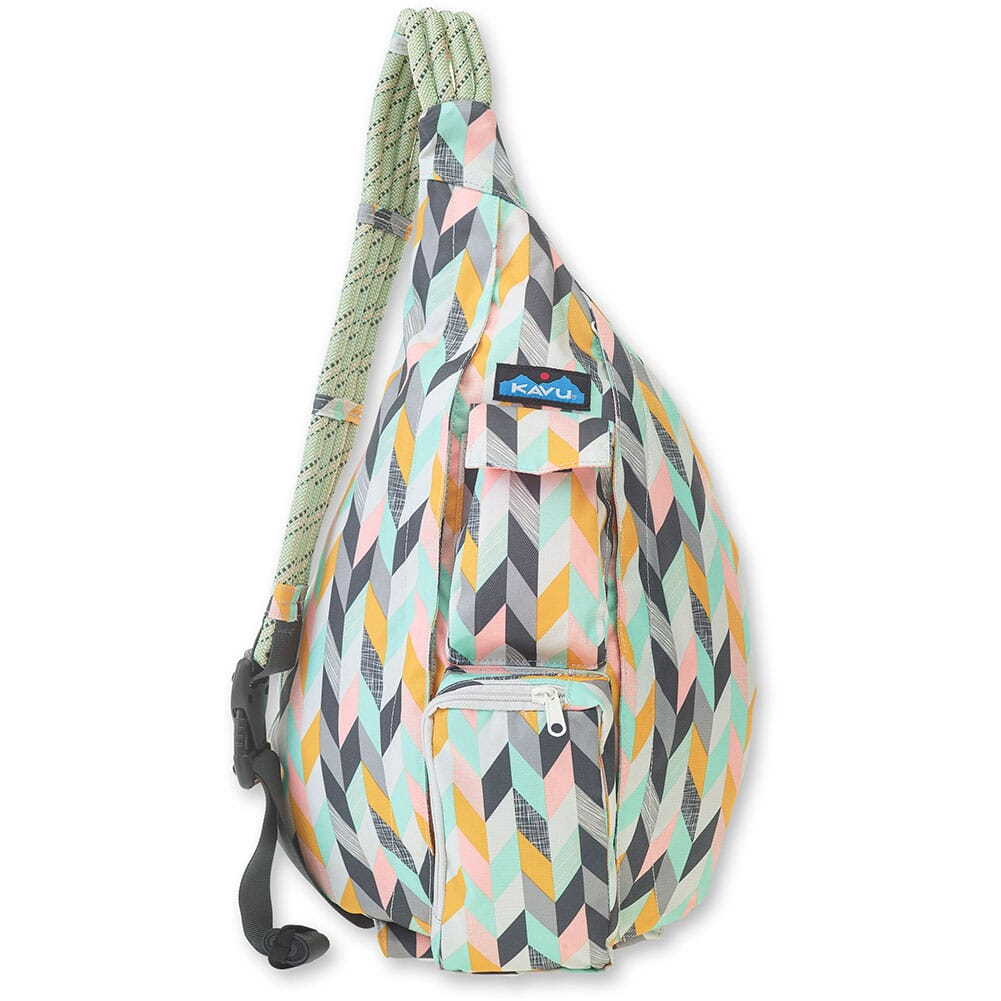 Image for Kavu Women's Rope Sling Bag - Chevron Sketch from bootbay