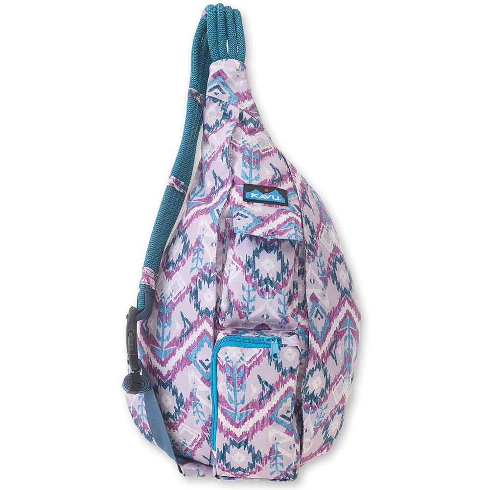 Image for Kavu Women's Rope Sling Bag - Purple Ikat from bootbay