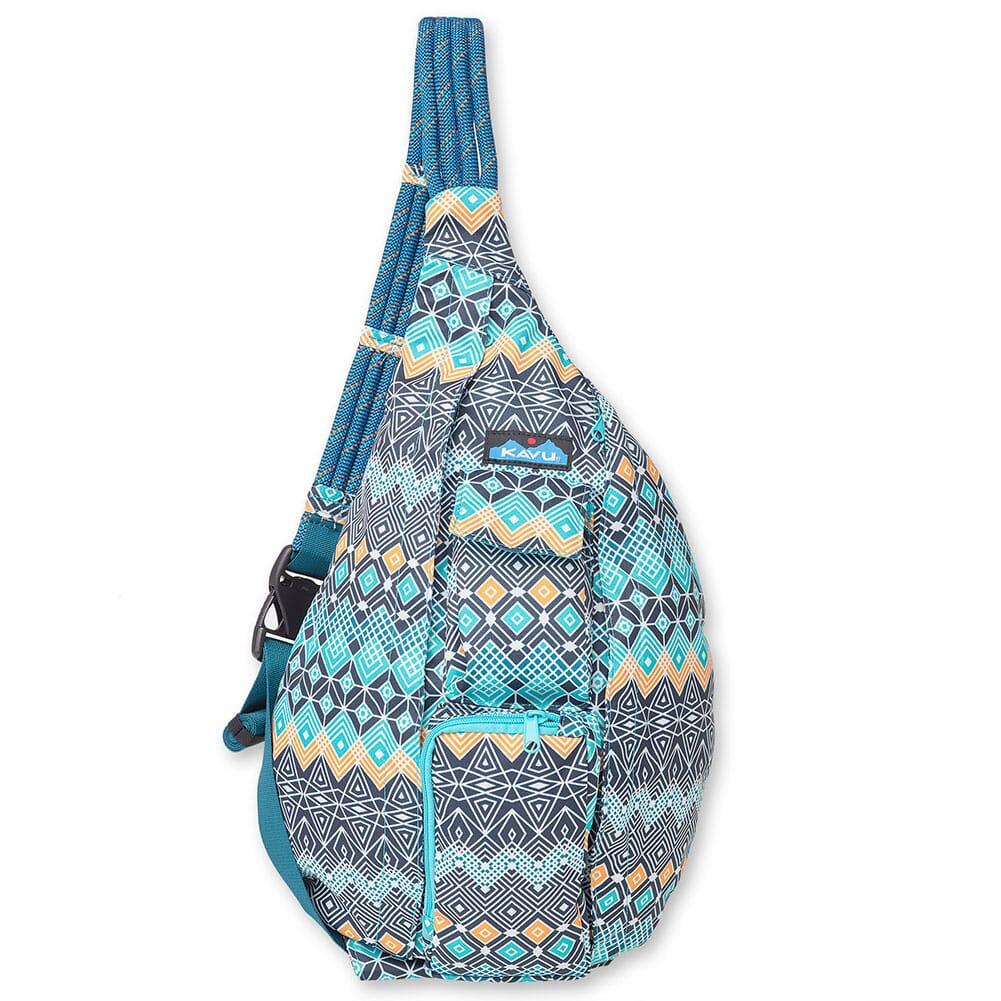 Image for Kavu Women's Rope Sling Bag - Sky Diamonds from bootbay