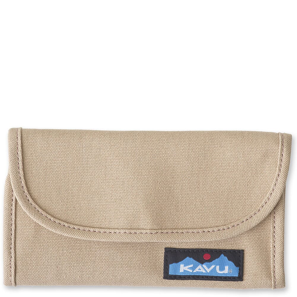 Image for Kavu Women's Big Spender Tri-Fold Wallet - Khaki from bootbay