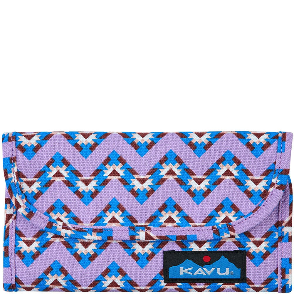 Image for Kavu Women's Big Spender Tri-Fold Wallet - Jewel Chevron from bootbay