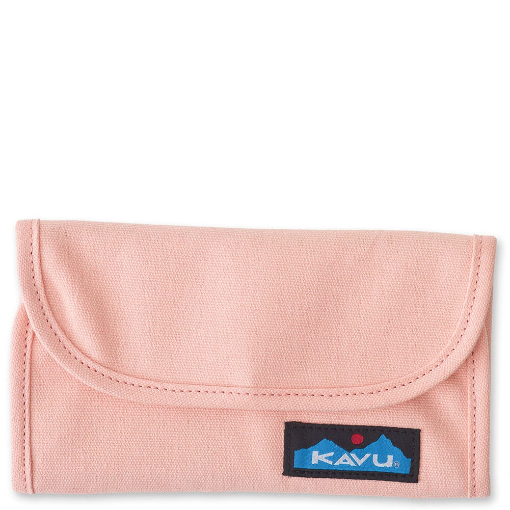 Image for Kavu Women's Big Spender Tri-Fold Wallet - Cherry Blossom from bootbay