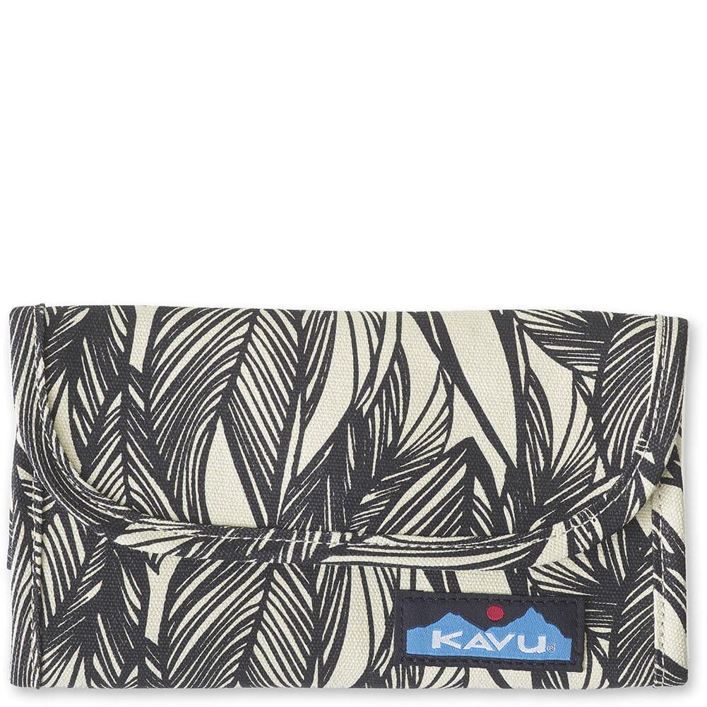Image for Kavu Women's Big Spender Tri-Fold Wallet - Ink Leaf from bootbay