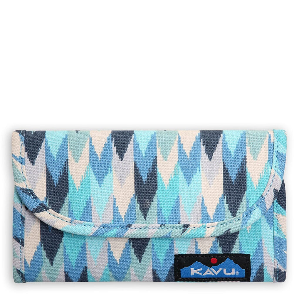 Image for Kavu Women's Big Spender Wallet - Blue Palette from bootbay