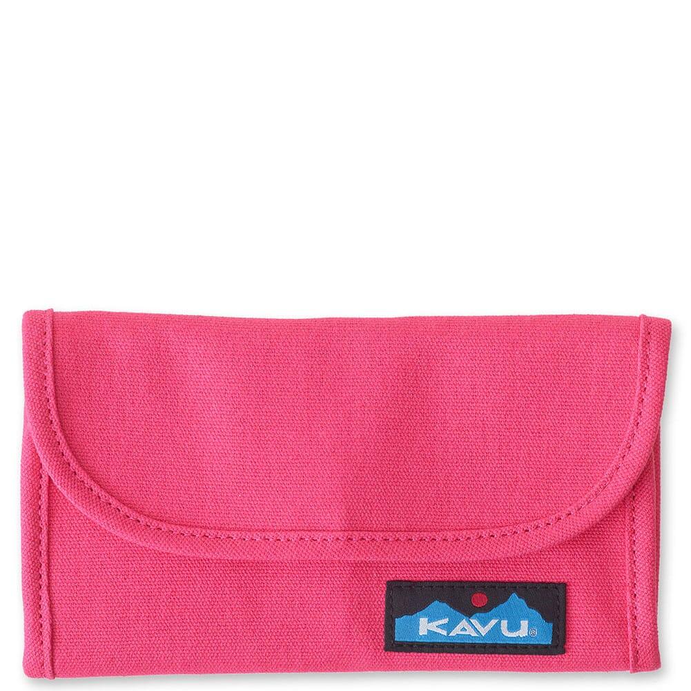 Image for Kavu Women's Big Spender Tri-Fold Wallet - Magenta from bootbay